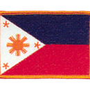 Tiger Claw Phillipines Flag Patch