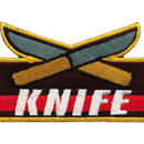 Tiger Claw Knife Achievement Patch