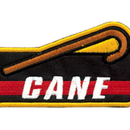 Tiger Claw Cane Achievement Patch