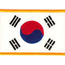 Tiger Claw Korean Flag Patch (3 1/2