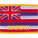 Tiger Claw Hawaiian Flag Patch (3 1/2