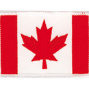 Tiger Claw Canadian Flag Patch (3 1/4