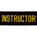 Tiger Claw Instructor Rectangular Patch (4