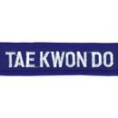 Tiger Claw Taekwondo Rectangular Patch (3