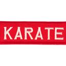 Tiger Claw Karate Rectangular Patch (3