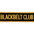Tiger Claw Black Belt Club Rectangular Patch (4