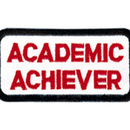 Tiger Claw Academic Achiever Rectangular Patch (3