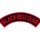 Tiger Claw Black Belt Dome Patch (5