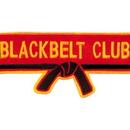 Tiger Claw Black Belt Club With Belt Patch (4 1/2