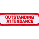 Tiger Claw Outstanding Attendance Patch (4