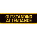 Tiger Claw Oustanding Attendance Patch (4