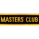 Tiger Claw Masters Club Rectangular Patch (4