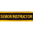 Tiger Claw Senior Instructor Rectangular Patch (4