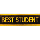 Tiger Claw Best Student Rectangular Patch (4