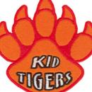 Tiger Claw Kid Tigers Paw Print Patch