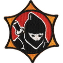 Tiger Claw Kid Tiger Patch - Ninja