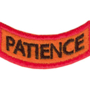 Tiger Claw Kid Tigers Patches: Patience, Discipline, Focus, and Drive