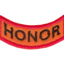 Tiger Claw Kid Tigers Patches: Honor, Respect, Balance, and Strong Stance