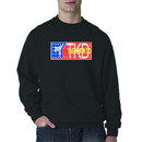 Tiger Claw Red, White, and Blue TKD Sweatshirt
