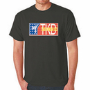 Tiger Claw Red, White, and Blue TKD Tee-shirt