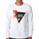 Tiger Claw Kung Fu Triangle Long Sleeve T-Shirt