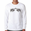 Tiger Claw Twin Dragon Long Sleeve T-Shirt