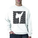 Tiger Claw Tae Kwon Do Silhouette Sweatshirt