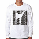 Tiger Claw Tae Kwon Do Silhouette Long Sleeve T-Shirt