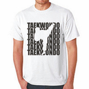 Tiger Claw Tae Kwon Do Silhouette T-Shirt
