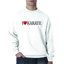 Tiger Claw I ❤ Karate Sweatshirt