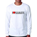 Tiger Claw I ❤ Karate Long Sleeve T-Shirt
