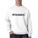 Tiger Claw I ❤ Tae Kwon Do Sweatshirt