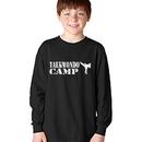 Tiger Claw Taekwondo Camp with Kicker Long Sleeve T-Shirt