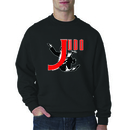 Tiger Claw Judo Sweatshirt - Black/Ash Grey