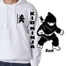 Tiger Claw Kid Ninja Hooded Sweatshirt