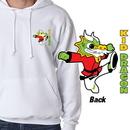 Tiger Claw Kid Dragon Hooded Sweatshirt