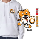 Tiger Claw Kid Tiger Hooded Sweatshirt