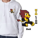 Tiger Claw Kid Lion Hooded Sweatshirt