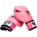 Tiger Claw Pink GFY Gear Leather Boxing/Muay Thai Glove
