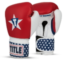 TITLE Boxing USABG USA Leather Bag Gloves