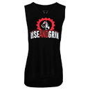 TITLE Boxing TBCW108 Rise And Grind Womens Sleeveless Tee