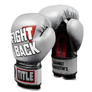TITLE Boxing FBBGL Fight Back Leather Boxing Gloves