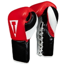 TITLE Boxing LPFG Premium Leather Pro Fight Gloves