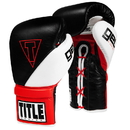 TITLE Boxing ESVTGL GEL E-Series Lace Training Gloves