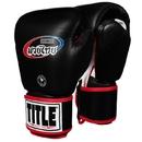 TITLE Muay Thai MTLTG Leather Training Gloves