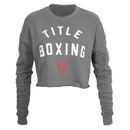 TITLE Boxing Women's Cropped Fleece Sweatshirt