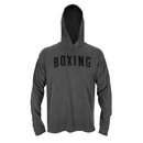 TITLE Boxing Hooded Long Sleeve Tee