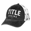 TITLE Boxing Distressed Adjustable Mesh Cap