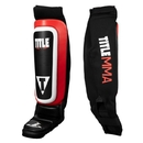 TITLE MMA Shin-N-Instep Pull-On Guards