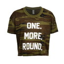 TITLE Boxing Women's Crop One More Round Tee